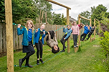 New trim trail opens at Bellsquarry Primary