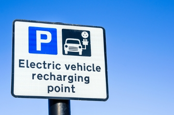 Charge points for electric vehicles
