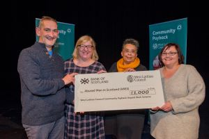 Community Payback donation to support abused men