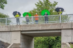 Work completed on £2.4 million bridge to connect West Lothian communities