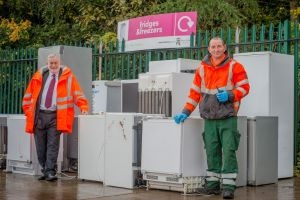 """Recycle Your Electricals campaign launching """"HypnoCat"""" to hypnotise West Lothian residents into recycling their old electricals  Icon"""