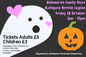 Bathgate Procession family disco