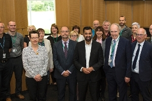 Council approach praised by Cabinet Secretary  Icon