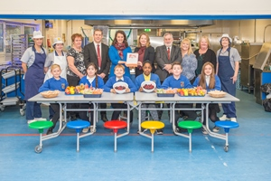 West Lothian celebrates award-winning school meals