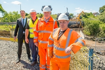 Works starts on £2.4 million bridge replacement Icon