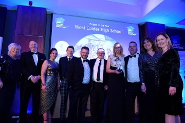 West Calder High School scoops Project of the Year award