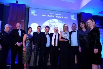 West Calder High School scoops Project of the Year award Icon
