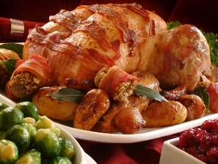 Households across West Lothian will be enjoying a tasty Christmas dinner this festive period Icon