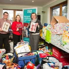 West Lothian Community donate to Home-Start  Icon