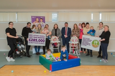 £150,000 investment to help take a bite out of food insecurity Icon