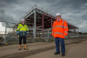 New Calderwood primary takes shape Icon
