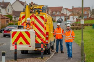 Lighting the way for an eco-friendlier West Lothian