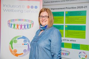 Vital support service celebrates two nominations at national education awards