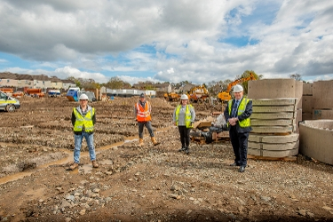 Former Livingston depot gets a new lease of life in the delivery of affordable homes