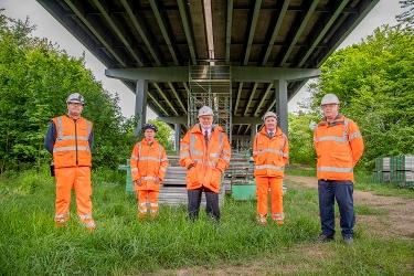 West Lothian's bridge network project