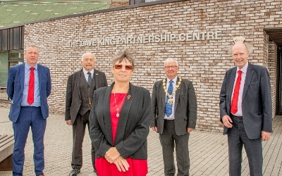 East Calder Partnership Centre renamed in tribute to Depute Provost  Icon