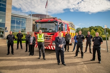 Community Safety partners issue safety messages ahead of bonfire night Icon
