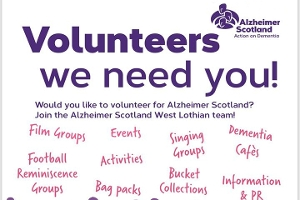 Alzheimer Scotland Volunteers