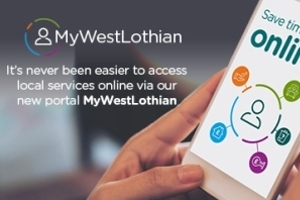 Services go online @ MyWestLothian Icon