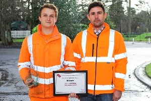 West Lothian apprentice wins top prize at APSE Awards Icon