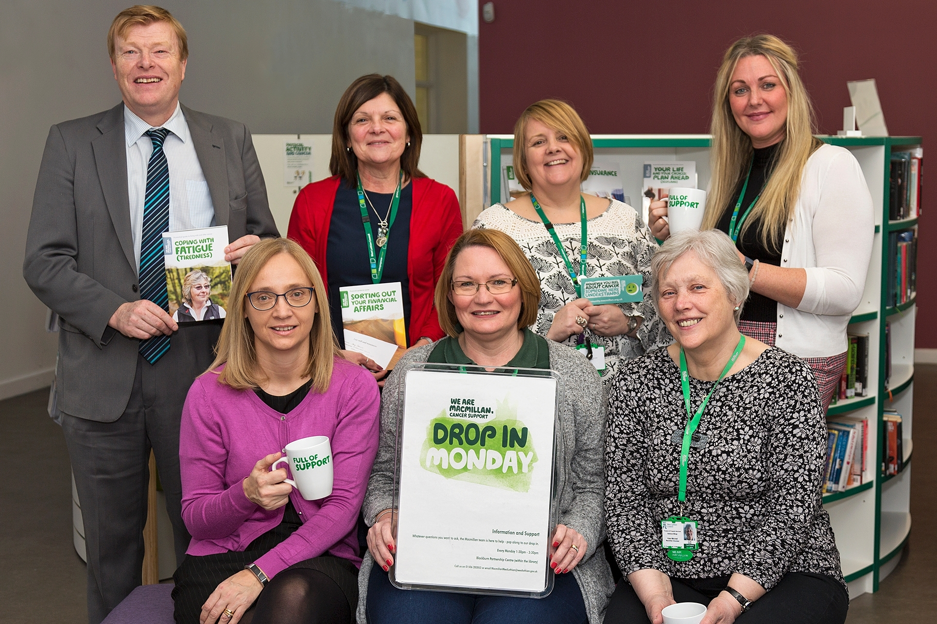Macmillan @West Lothian always here to help  Icon