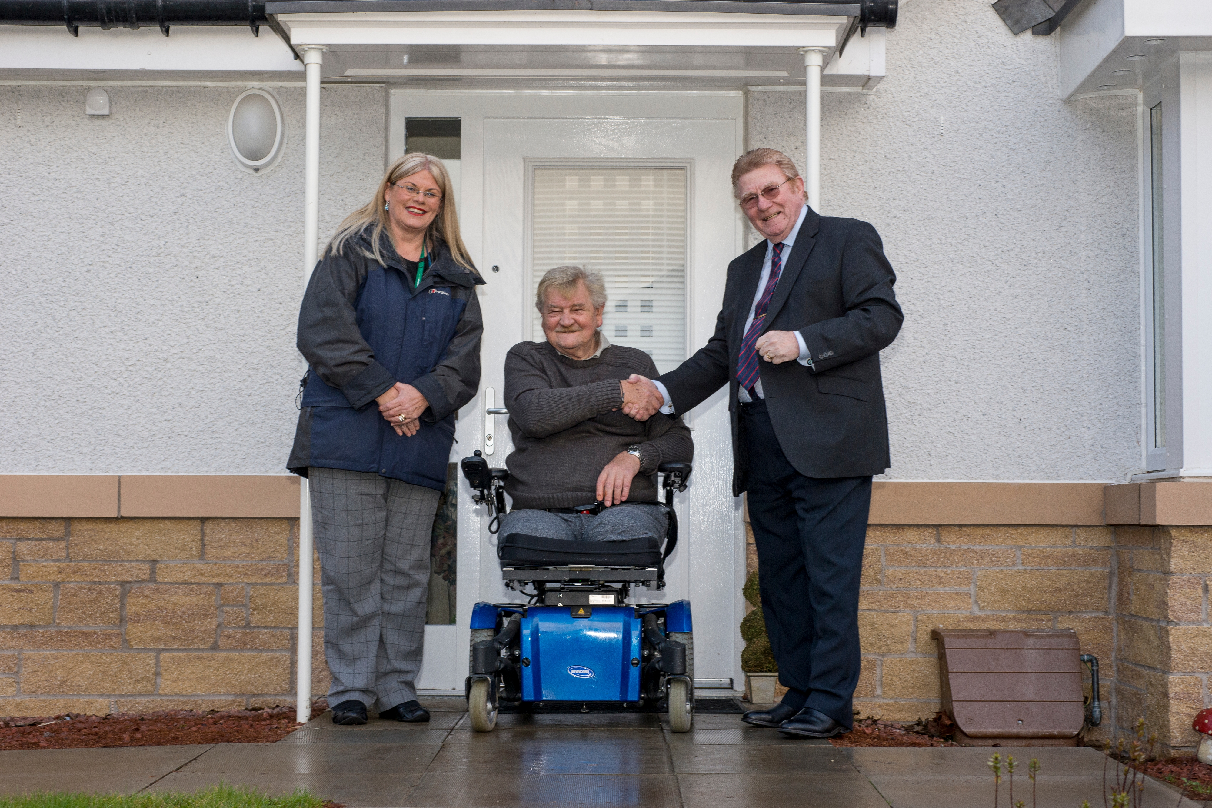 Tenants move into council homes in St Anthony's View  Icon