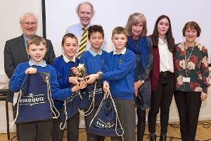 West Lothian Council Primary Schools take part in Scotland wide Euroquiz