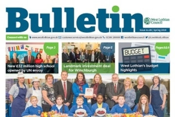 Spring Bulletin on the way Icon
